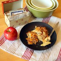 Apple Sauerkraut Au Gratin