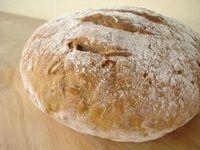 Sunflower Seed Rye Sourdough Bread