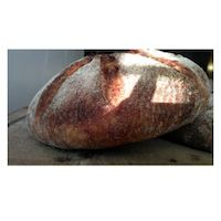 Sweet Potato And Walnuts Rye Sourdough Bread