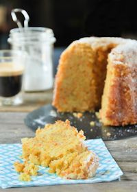 Carrot Cake, Apple And Almonds
