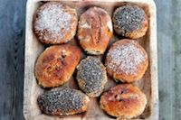 Figs And Dates Sourdough Rolls With Spelt
