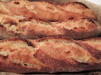 Baguettes With Liquid Levain