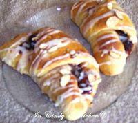Cherry Berry Crescent Rolls