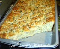 Herbed Oatmeal Pan Bread