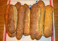 3 Cheese And Prosciutto Bread Sticks
