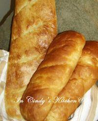 Sourdough French Rolls