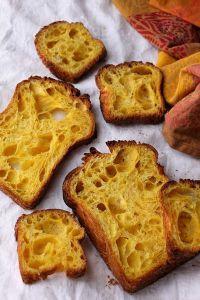 Pumpkin Laminated Sandwich Loaf