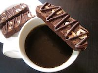 Chocolate Hazelnut Sourdough Biscotti