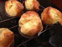 Sourdough Popovers