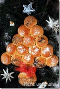 Christmas Tree Rolls