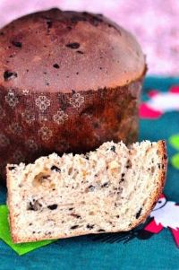 Traditional Pasta Madre Chocolate Panettone