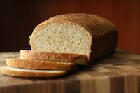 Cracked Wheat And Bran Bread