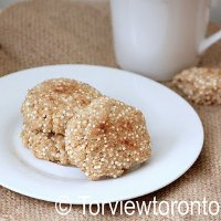 Sago Coconut Cookies