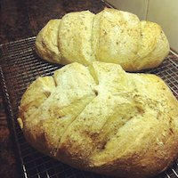 Chewy Tangy Bread