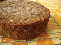 Sourdough Crumb Parsnip Cake