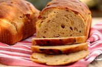 Whole Wheat Hazelnut And Raisin Bread