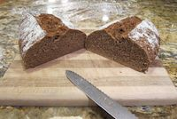 One Step 100% Rye Sourdough
