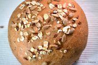 Malt Rolls, With Wheat Sourdough