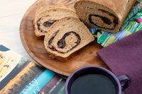 Prune Walnut Swirl Bread
