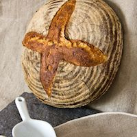 Wheat-Rye Bread With Spelt