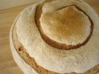 Caraway Light Rye Sourdough Bread
