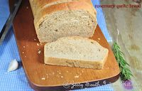 Whole Wheat Rosemary Garlic Bread