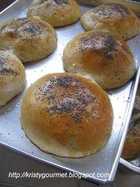 Citrusy Cream Cheese Custard Buns