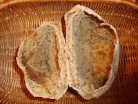 Golden Roasted Flax Seed Puffed Breads