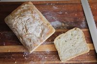 No Knead Honey And Oat Bread