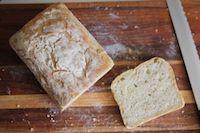 No Knead Honey And Oat Bread