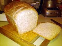Half Whole Wheat Sandwich Bread (Sourdogh)