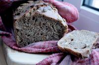 Sourdough Rye Bread With Pumpkin Seeds