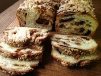 Chocolate Sourdough Brioche Babka