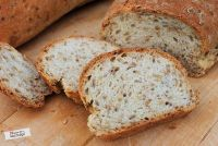 Bread With Linseeds And Eggwhite