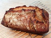 Tangy Kamut And Buckwheat Sourdough