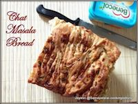 Chat Masala Pull Apart Bread