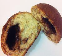 Tangzhong Whole Wheat Chocolate Banana Bun