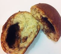 Tangzhong Whole Wheat Chocolate Banana Bun