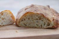 Ciabatta With Cold Fermented Dough