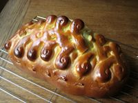 Decorated Challah