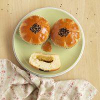 Taro Pumpkin Buns
