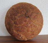 Vollkorn-Couscous-No Knead Bread