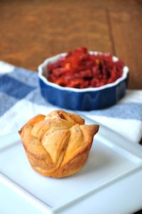Pizza Monkey Bread Muffins