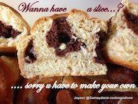 Eggless Vegan Brownie Pull Apart Bread