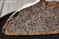 No Knead Bread With Grains & Seeds