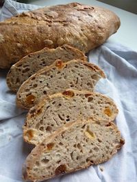 Apricot, Almond And Grains Sourdough