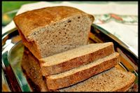 Whole Wheat Honey Buttermilk Bread