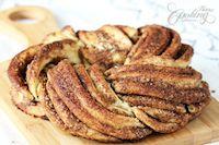 Estonian Kringle - Cinnamon Braid Bread