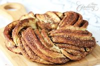Estonian Kringle - Cinnamon Braid Bread