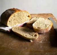 20% Barley Bread With 80% Biga
